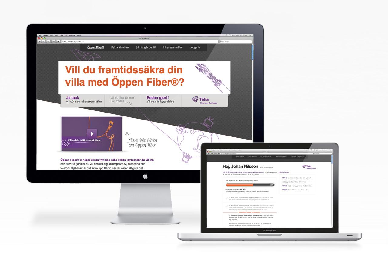 telia fiber status